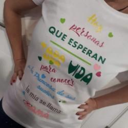 Camisetas con inicial